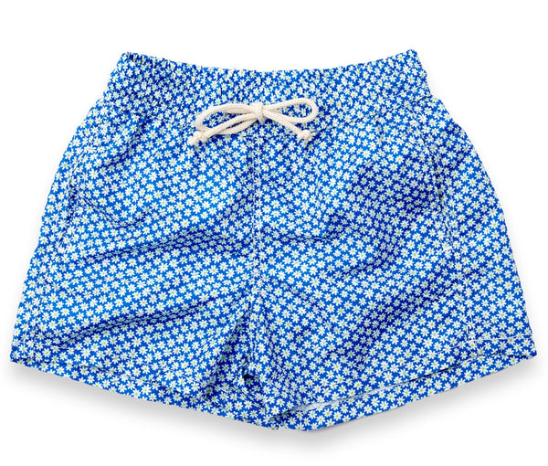 Flower Swim Trunks