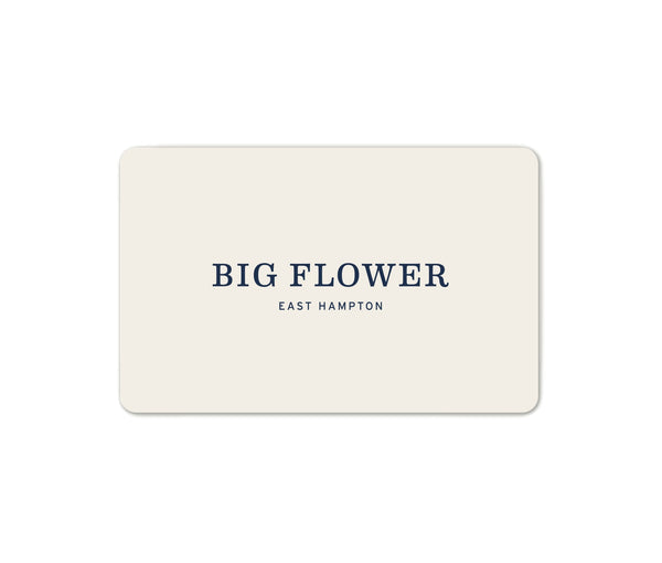 Big Flower Gift Card