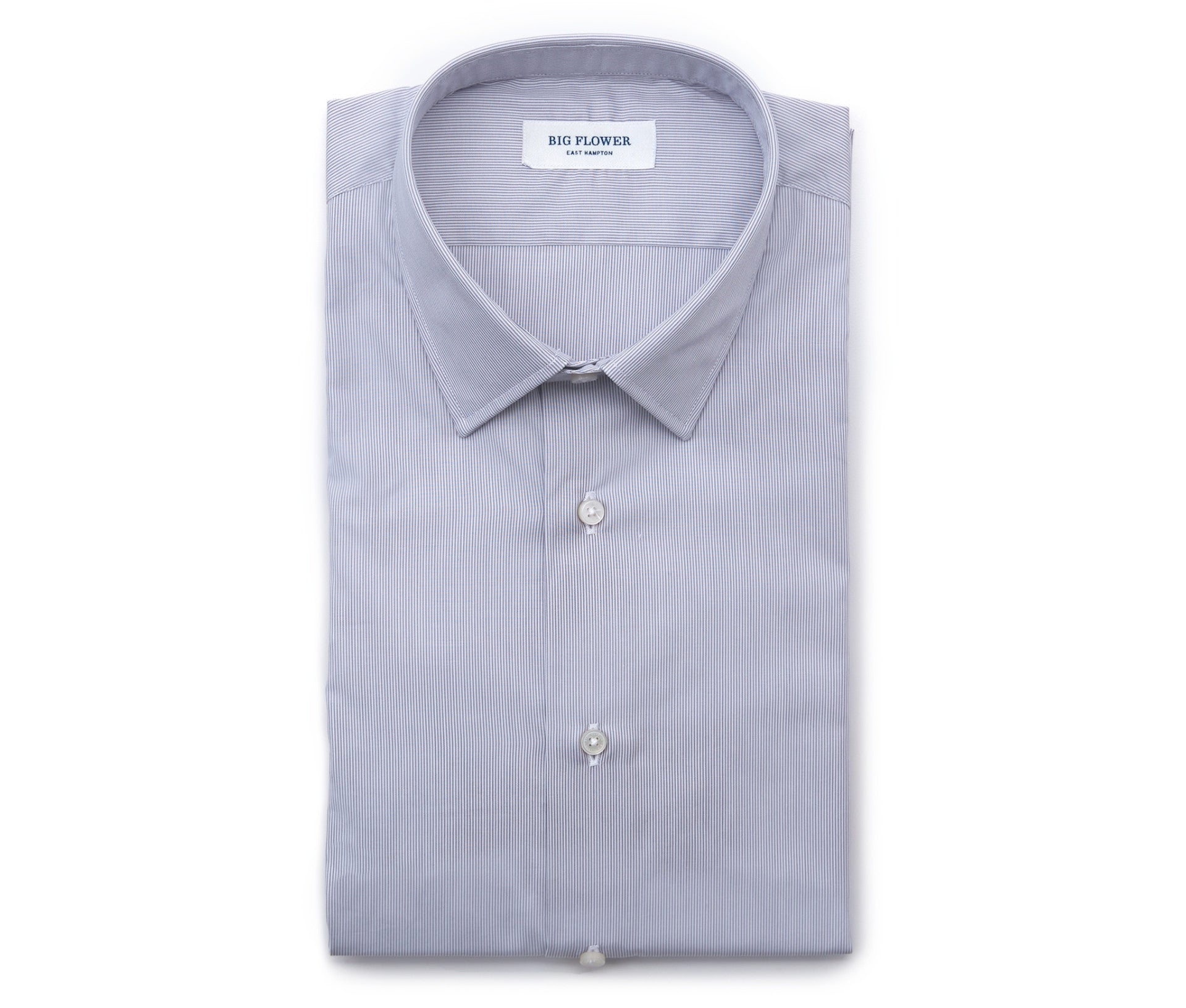 Italian Striped Cotton Shirt