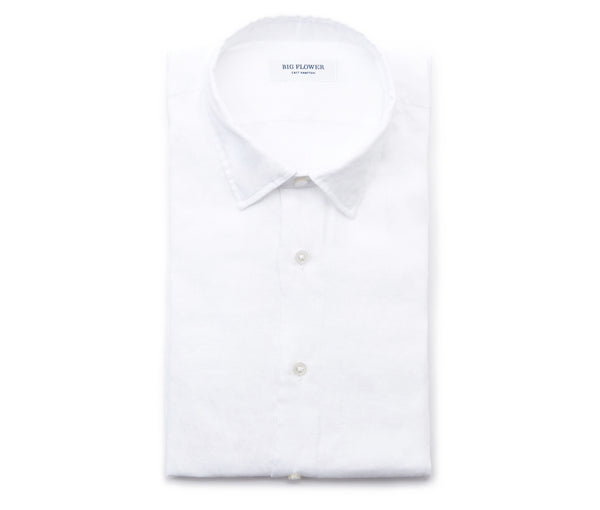 Mens Slim Linen Shirt