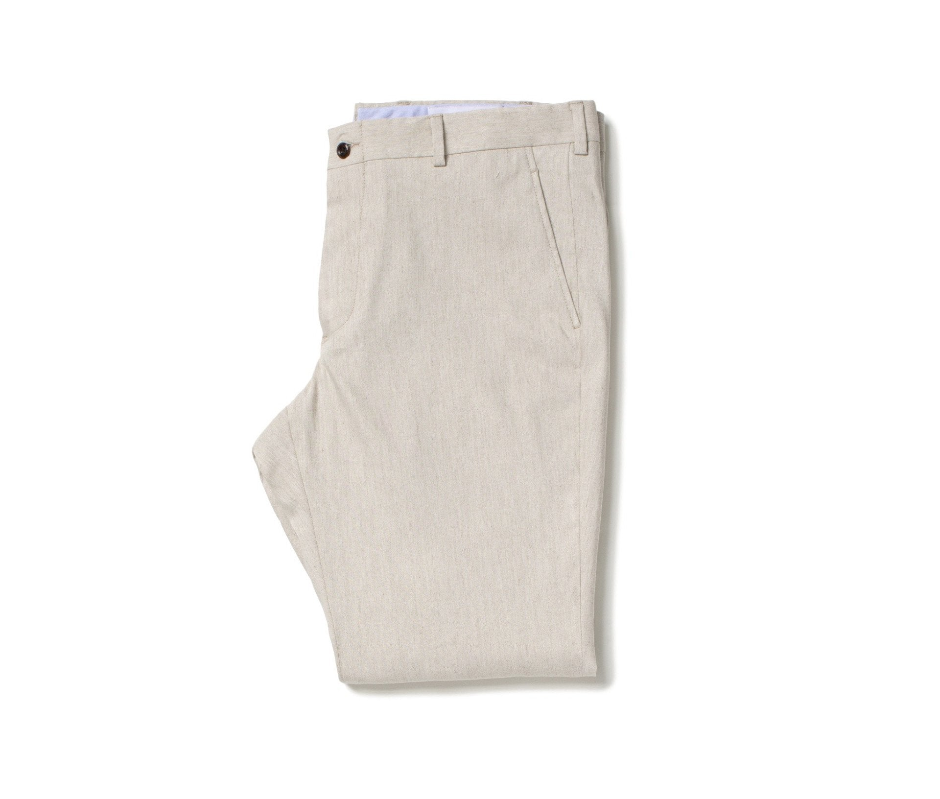 Stretch Linen Trousers