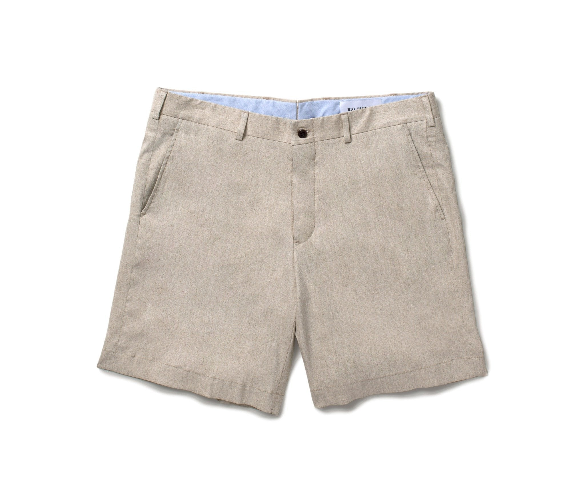 Stretch Linen Shorts // Sand