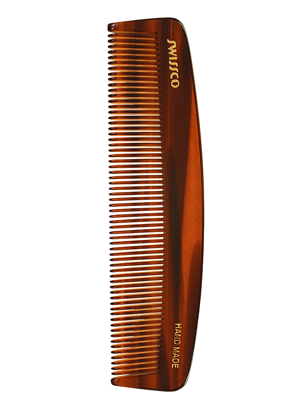 Tortoise Pocket Comb, Fine Tooth