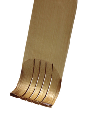 Bamboo Collection Double Sided Back Scratcher, 1 Side Back Scratcher, 1 Side Massager.