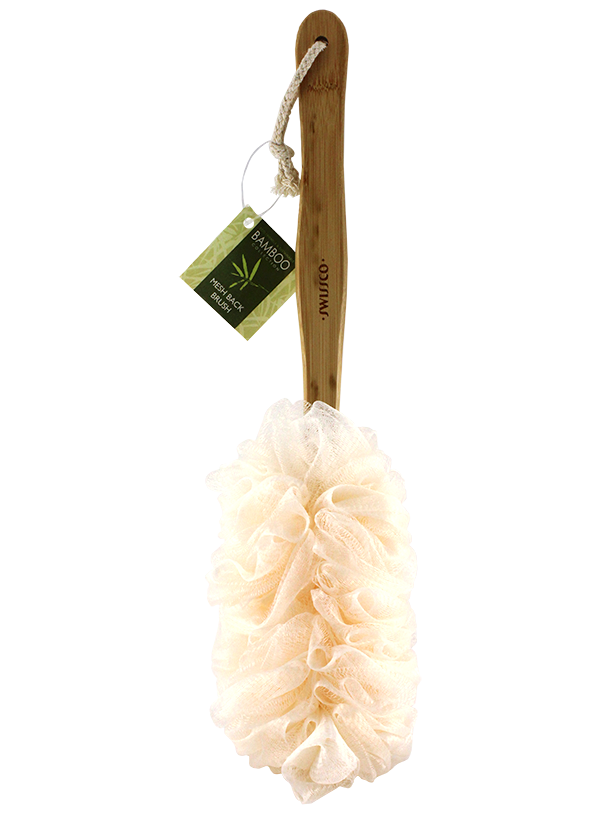 Bamboo Collection Mesh Back Brush