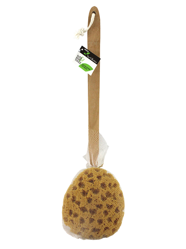 Faux Sea Sponge on Wooden Handle