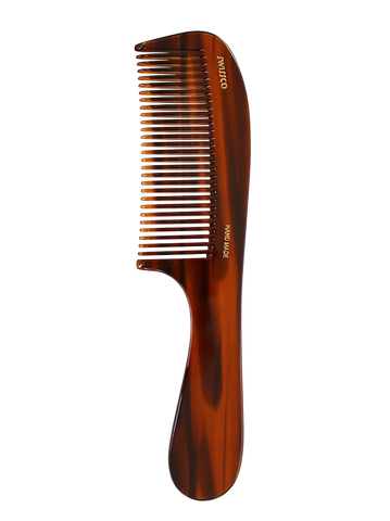 Tortoise Handle Comb - Medium Tooth