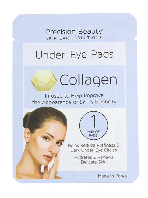 Precision Beauty 5 Pair Korean Under-Eye Pads, Collagen
