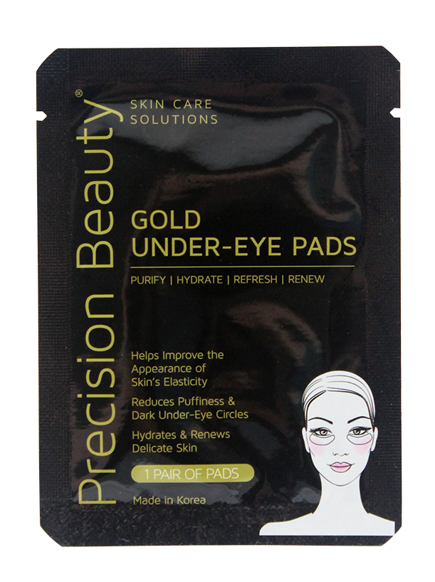 5 PAIR KOREAN UNDER-EYE PADS, GOLD