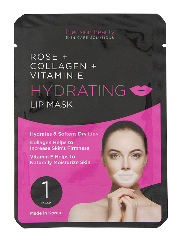 5 PK  LIP MASK, COLLAGEN, ROSE AND VITAMIN E