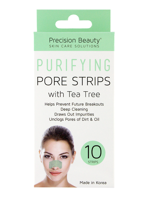 10 PK DEEP CLEANSING PORE STRIPS TEA TREE