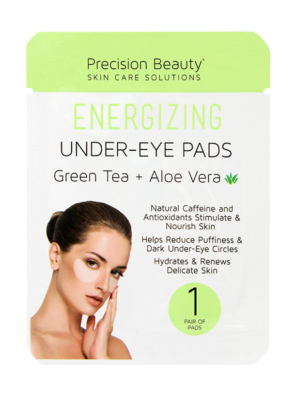 5 PAIR KOREAN UNDER-EYE PADS, GREEN TEA & ALOE VERA