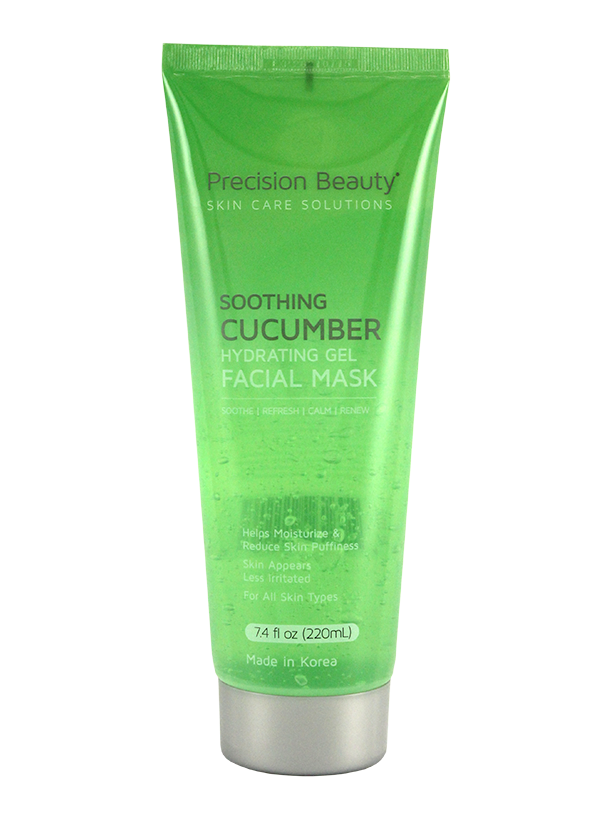 CUCUMBER HYDRATING GEL FACIAL MASK. 220ML