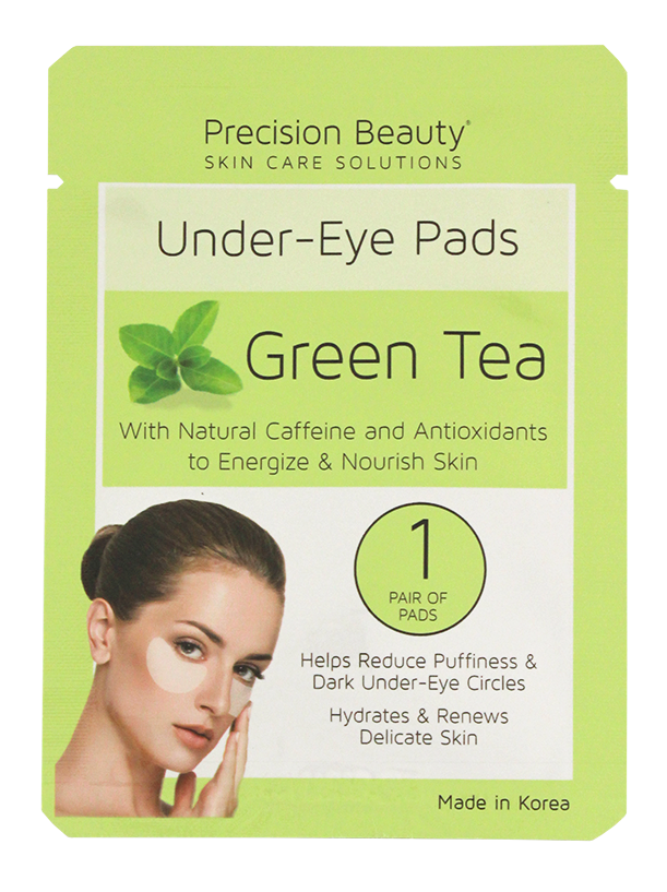 5 PAIR KOREAN UNDER-EYE PADS, GREEN TEA