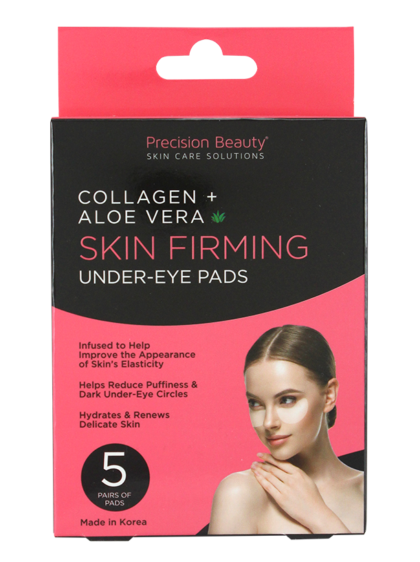 5 PAIR KOREAN UNDER-EYE PADS, COLLAGEN & ALOE VERA