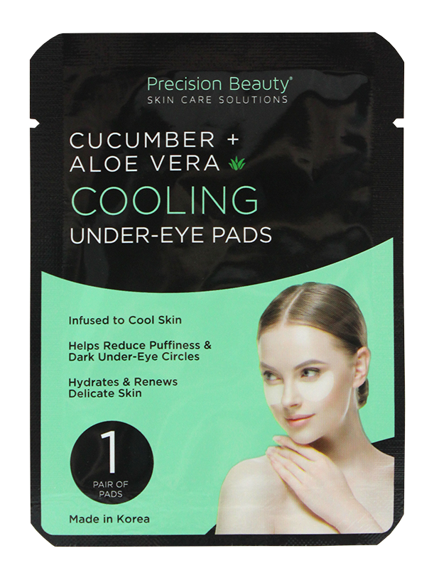 5 PAIR KOREAN UNDER-EYE PADS, CUCUMBER & ALOE VERA