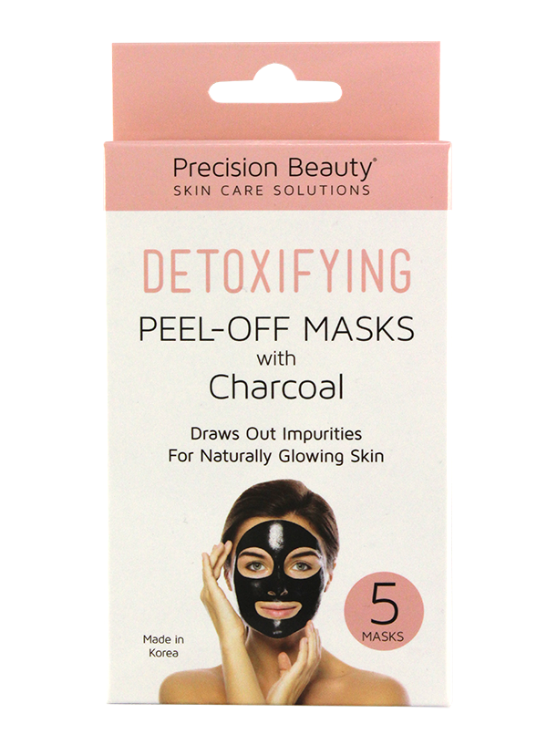 5 PACK CHARCOAL PEEL OFF MASK MADE IN KOREA