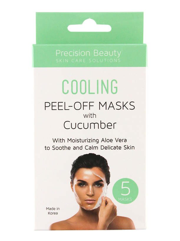 5 PACK CUCUMBER PEEL OFF MASK MADE IN KOREA