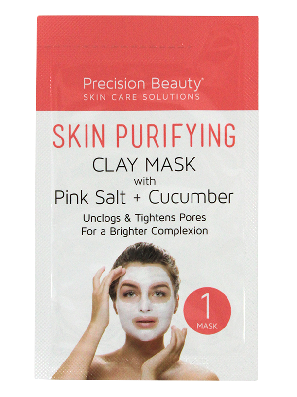 5 PACK CUCUMBER & PINK SALT CLAY MASK MADE IN KOREA