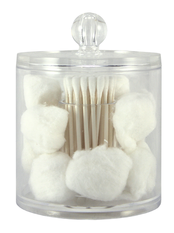 Cotton Ball & Swab Organizer.