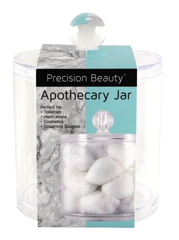 Precision Beauty Apothecary Jar Organizer