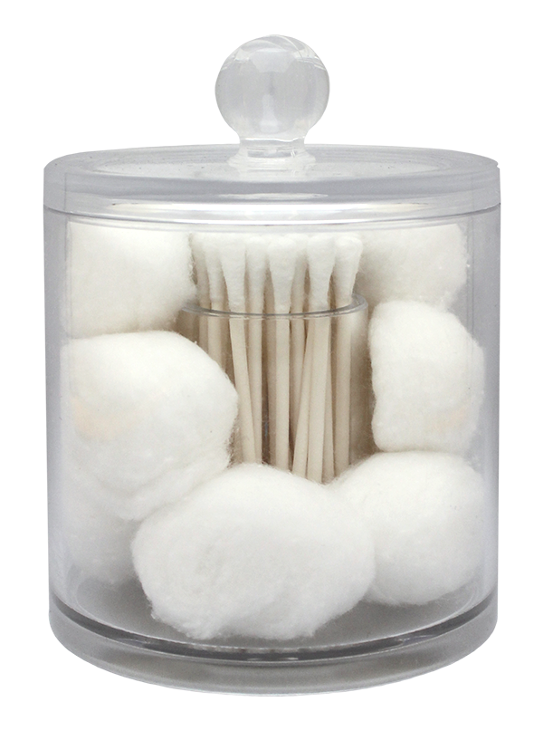Cotton Ball & Swab Organizer