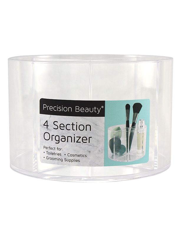 4 SECTION WIDE ORGANIZER
