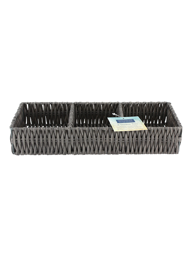 MEDIUM 3 SECTION BIN ORGANIZER