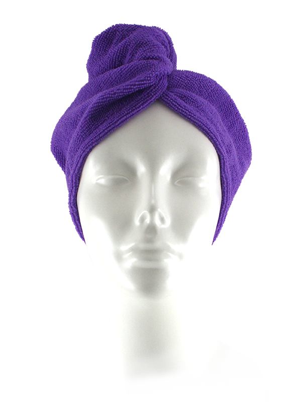 Spa Body Micro Fiber Fast Dry Hair Turban