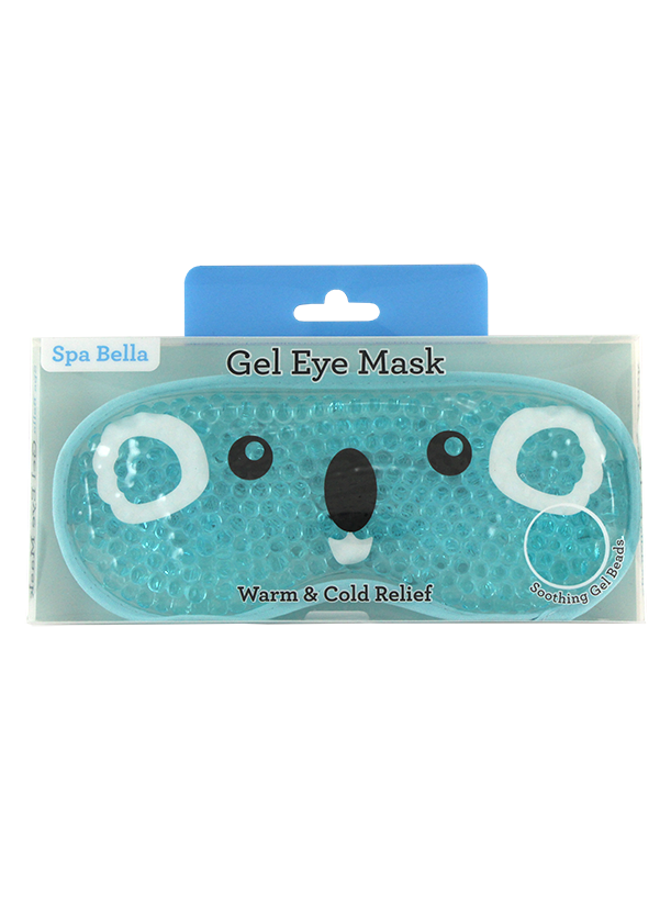 GEL EYE MASK LARGE BLUE KOALA