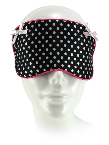 Small Polka Dot Sleep Mask.