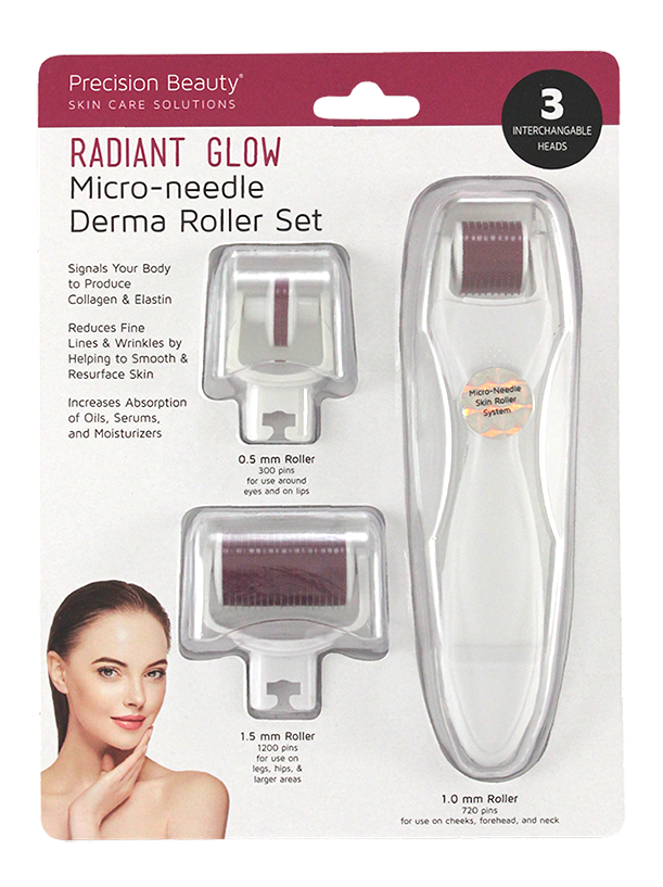 MICRO-NEEDLE FACIAL ROLLER SET