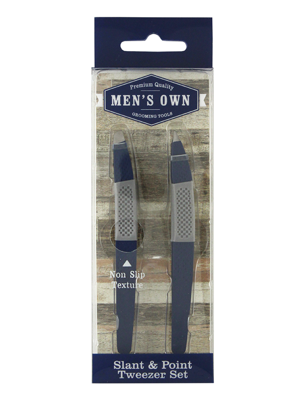 Men's 2 Pack Soft Touch Tweezers