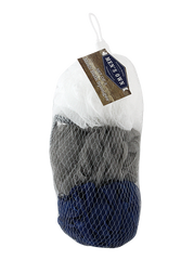 Men's Own 3pc Mesh Sponge in Net Bag