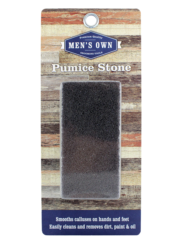 Men's Own Rectangle Pumice Sponge