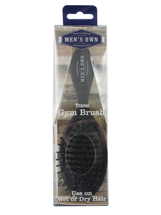 Men's Own Soft Touch Travel Gym Brush