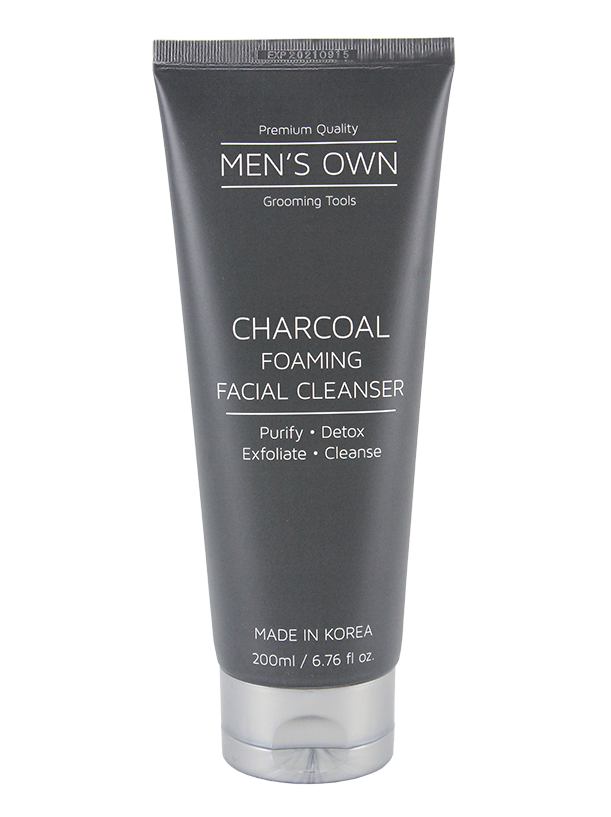 Men's Own Charcoal Foaming Facial Cleanser 200ML