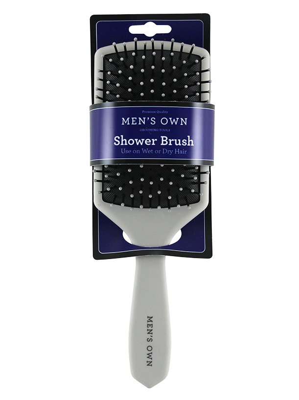 MEN'S SOFT TOUCH SHOWER BRUSH