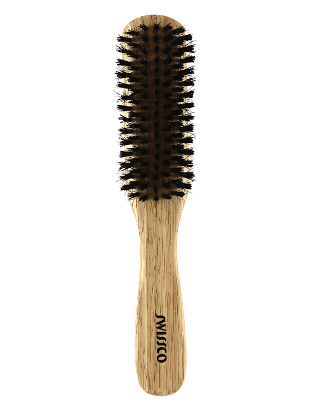 WOODEN LONG PADDLE BRUSH