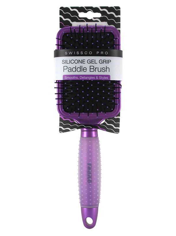 Pro Paddle Brush with Gel Grip