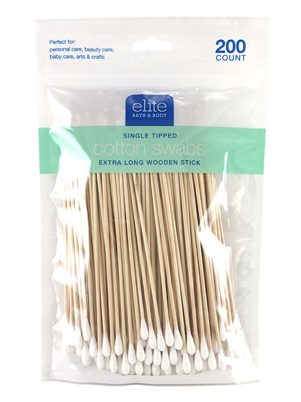 LONG  COSMETIC APPLICATOR 200PC