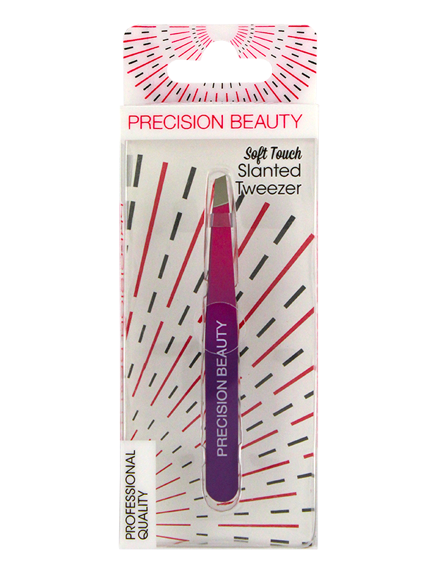 Soft Touch 2 Toned Slanted Tweezers