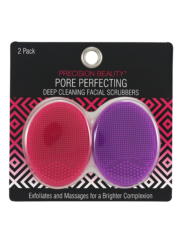 Precision Beauty 2 Pack Silicone Face Scrubbers