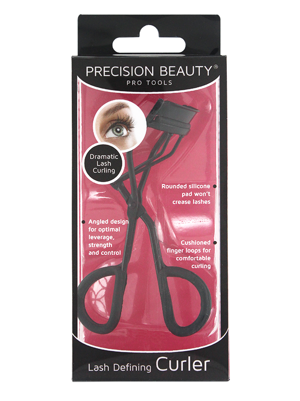 Precision Beauty Pro Eyelash Curler Electroplate Finish in Black