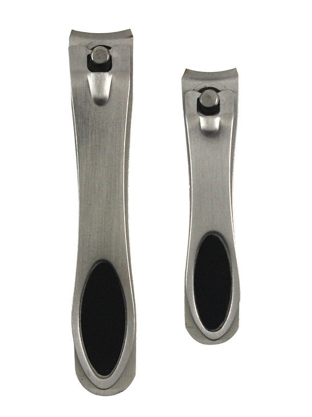 2PC NAIL CLIPPER SET ON BLISTER CARD
