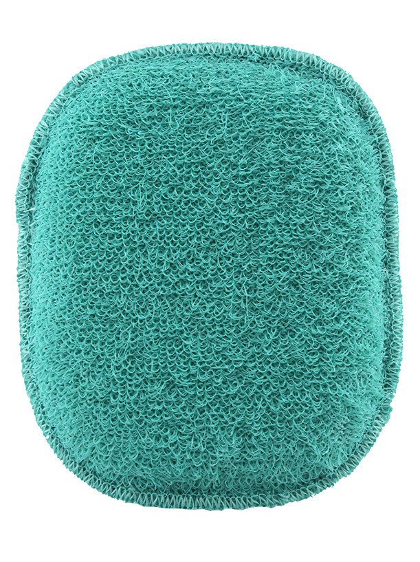Oval Massage Sponge w/Strap