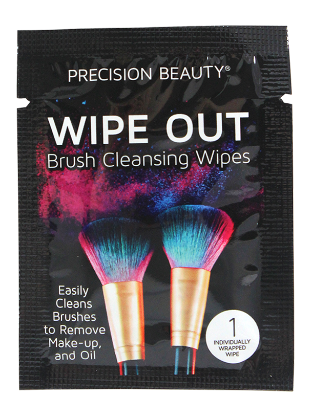 Precision Beauty Makeup Brush Cleaning Wipes. 24pk