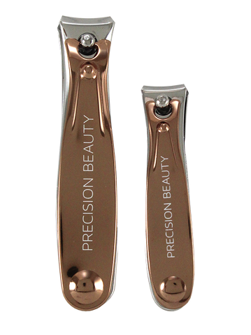 Rose Gold Collection 2pc Nail Clipper Set