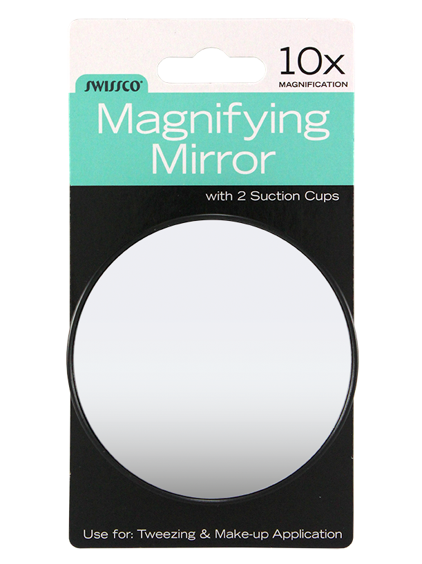"SUCTION CUP MIRROR 3.5"", 10X"