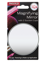 "Suction Cup Mirror 3 1/2"", 10X"